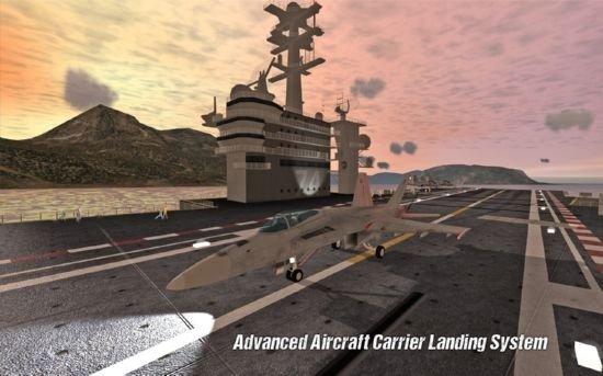 航母着陆模拟器
