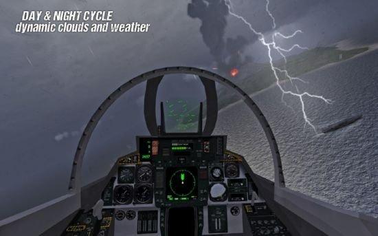 航母着陆模拟器游戏